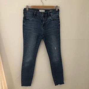 Pac Sun skinny ankle jeans